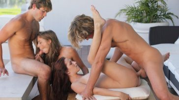 X-Art The Foursome Featuring Maryjane and Presley 2