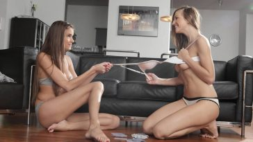 X-Art No Strings Attached Featuring Eufrat and Silvie 9