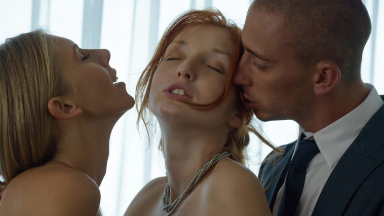 X-Art Angelica & The Red Fox in Exposed and Aroused - Wish it were you right! with Ben 4