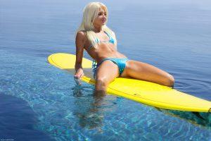 X-Art Francesca Surf Naked