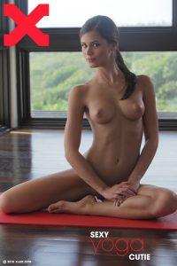 X-Art Caprice Sexy Yoga Cutie