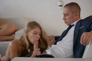 X-Art Caprice & Angelica in Awe Inspiring Orgy with Ben & Marecello